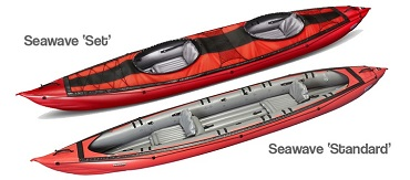 Gumotex Seawave Inflatable Kayaks and Canoes