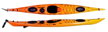 Riot Brittany 16.5 with Rudder Sea Kayak